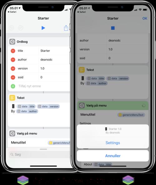 Starter Shortcut on Apple Shortcuts from ShareShortcuts.com