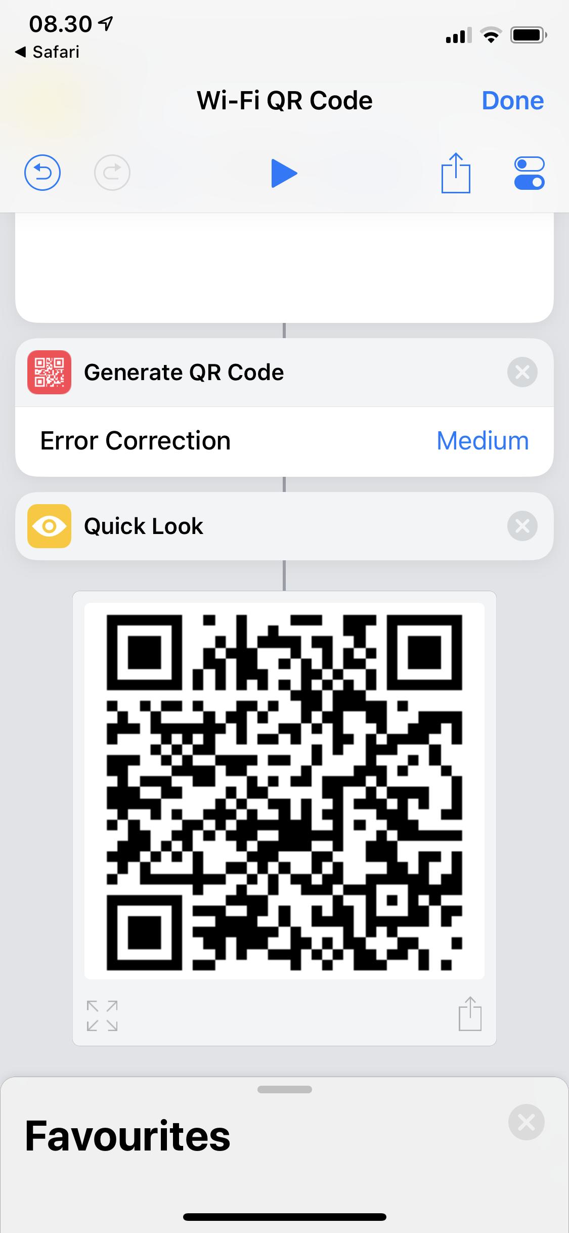 Hotspot QR Code