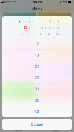Screenshot for Apple Siri Shortcuts Tic-Tac-Toe 3