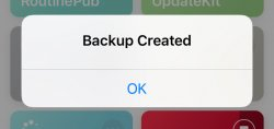 Screenshot for Apple Siri Shortcuts Shortcut Backup 1
