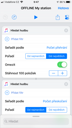 Screenshot for Apple Siri Shortcuts OFFLINE My station 1